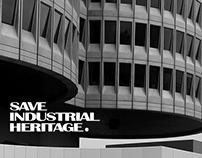 SAVE INDUSTRIAL HERITAGE Digital Branding