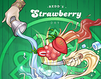 Redd´s dry Strawberry