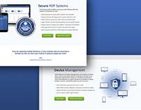 TruGrid website and marketing materials