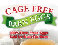 Barn Eggs Labels