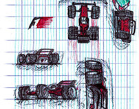 F1 Concept - Initial Sketches