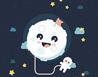 Animaton #4 - Cute Moon