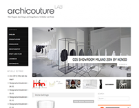 Webmagazine on Design, Archictecture and Fashion topics
