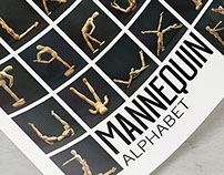 Mannequin Alphabet Collection