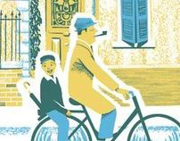 """A Ride Through Town"" Poster"