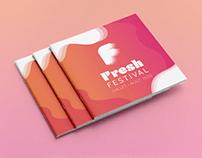 FRESH FESTIVAL - Identité graphique