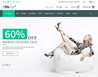 Life Style - Multi Purpose eCommerce PSD Template