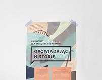 Poster ~ Opowiadając historię