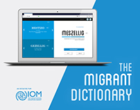 The Migrant Dictionary - UX