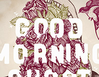 Good Morning, Ghost // Song artworks & T-shirt