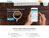 Messanger iOS App Landing page