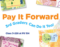 Pay It Forward 3rd Graders Can Do It Too!