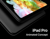 iPad Pro 2018 Animated Concept