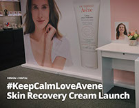 #KeepCalmLoveAvene - Skin Recovery Cream Launch