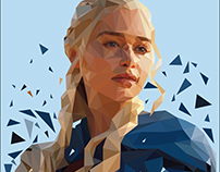 Daenerys Targaryen - High Poly
