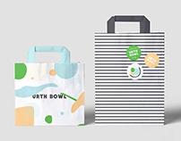 Urth Bowl delivery branding (Qatar)