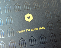 D&AD Direct Mail for the Call for Entries campaign 2015