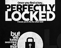 PERFECTLY LOCKED! - Poster Design