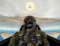 9 G's in a Thunderbird F16