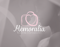 Memoralia - Wedding Photographer's Logo