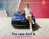 一汽大众/全新高尔夫8平面拍摄