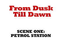 "Sound visualization ""FROM DUSK TILL DAWN"""