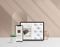 Minimal - Front Scene Devices Mockup