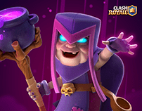 Mother Witch - Clash Royale