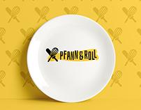 Pfann&Roll Restaurant - logo & branding