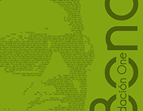 Juanes & Bono calligram posters