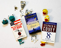 Crochet Key ring and Book mark