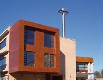 Iglesia y Centro Docente c/ Rusia. Madrid.