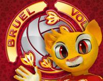 Bruel Volley Bassano Integrated Identity