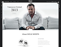 Milk Shirts - Photography | Website | Video