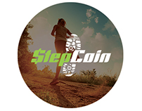 StepCoin landing page