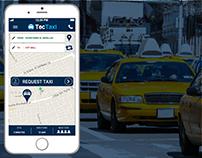 TecTaxi I App Design