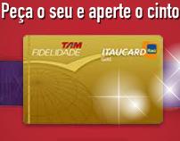 Itaucard - Campanha TAM Itaucard