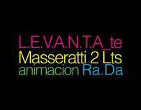 Masseratti 2lts L.E.V.A.N.T.A_te Typography
