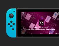 Adobe XD for Nintendo Switch