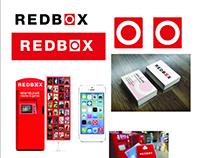 RedBox branding redesign concept