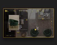 Interior Design UI concept