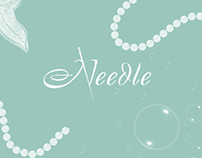 Needle - website for handmade products