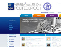 Università di Napoli web site contest