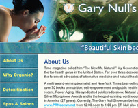 Gary Null's Living Beautifully Naturally website