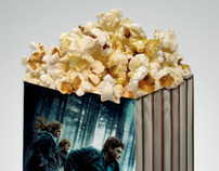 Pop corn box - Harry Potter