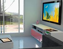 Interior Conceptual 3D Design - Curitiba - PR