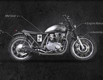 Custom Motorbike Garage