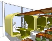 Staff Canteen Interior Concept