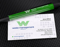 Waste Management Group corporate identity