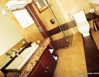 Redesign of 3 Bathrooms - 2010